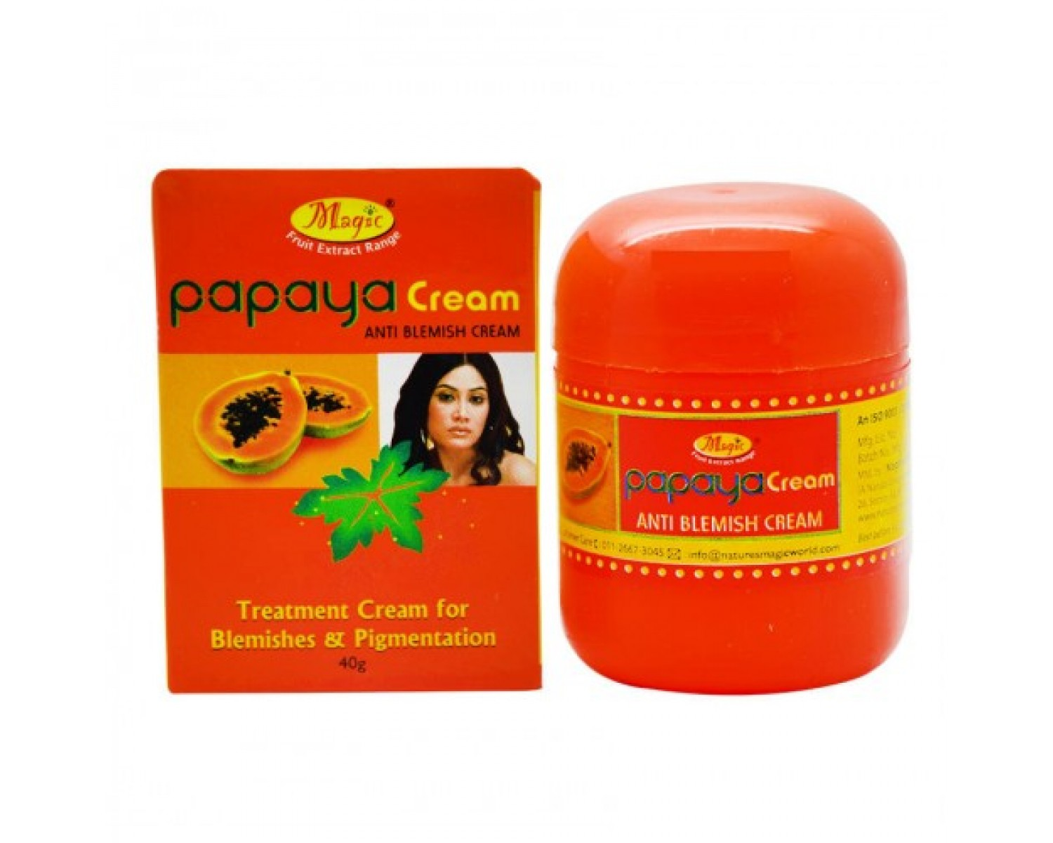 Nature's Essence Magic Papaya Anti Blemish Cream
